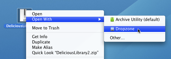 Install Delicious Library